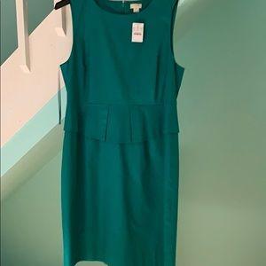 J CREW green dress